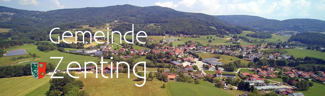 Website der Gemeinde Zenting aus dem Landkreis Freyung-Grafenau